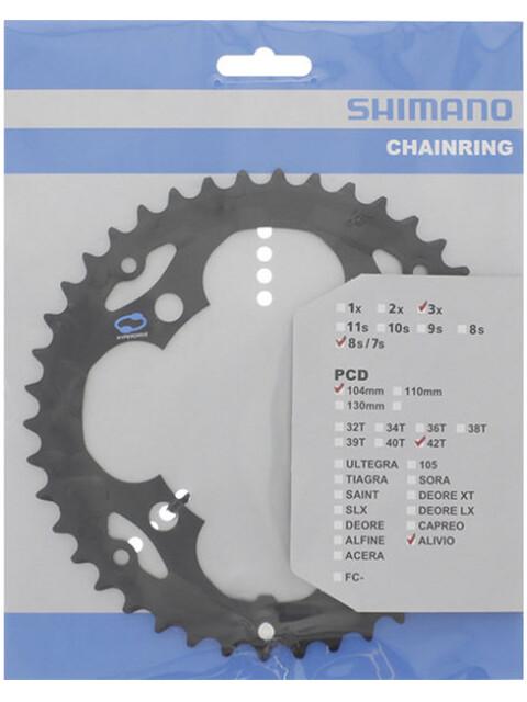 Shimano Alivio FC-M415 Kettenblatt 7/8-fach schwarz